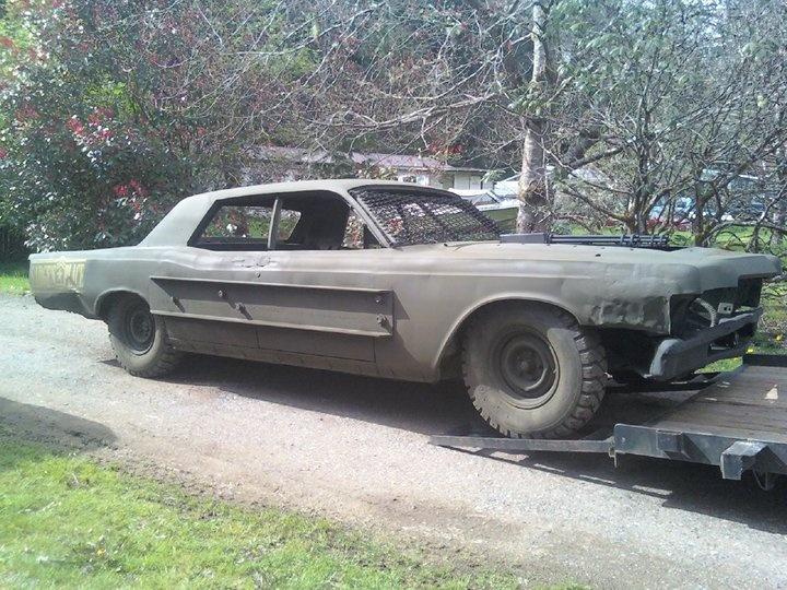 69 Lincoln Demolition Derby Car Demolition Derby Stuff