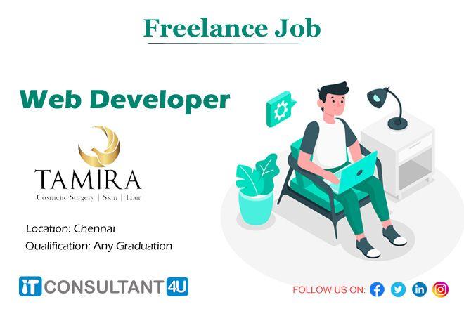 Freelancejobs Webdeveloper Chennaijobs Itconsultant4u Workfromhome Remotework Freelancing Jobs Help Finding A Job Job Posting
