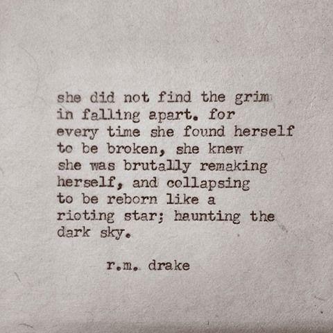 she found herself