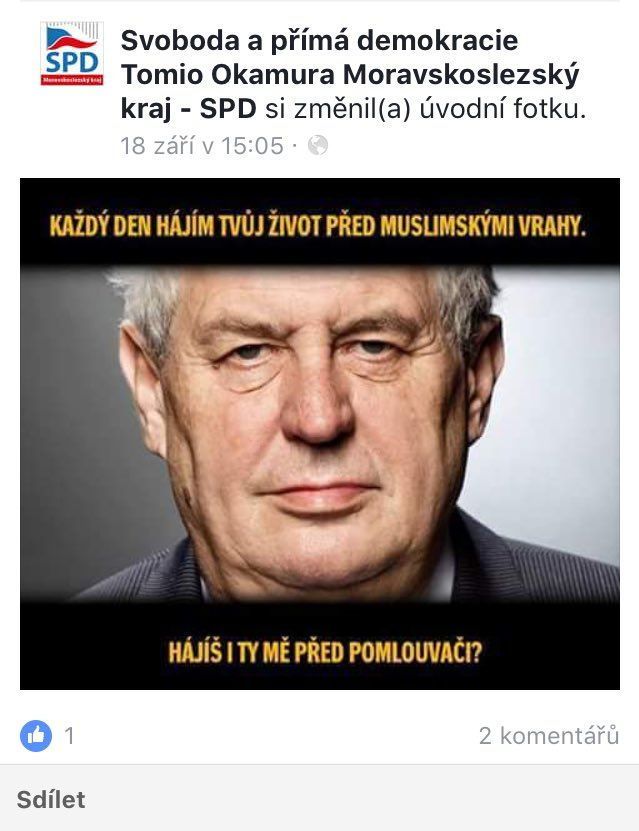 falesnej FB Ovcacek uspel u praveho SPD LOL