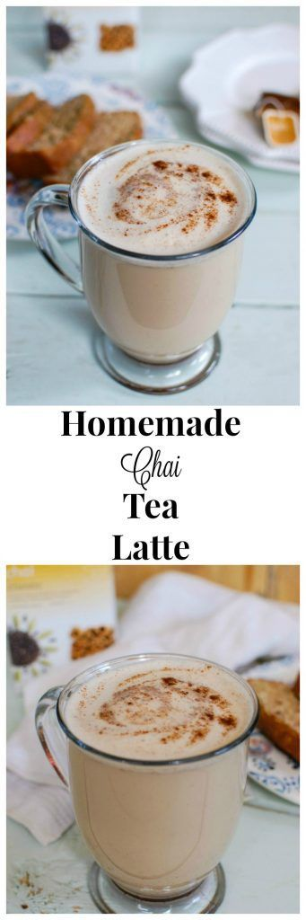 This easy, Homemade Chai Tea Latte is the perfect fall drink to warm you up and keep you cozy. The rich, warm spices of chai tea are made creamy and thick using your favorite milk of choice along with cinnamon, cloves, ginger and nutmeg. // A Cedar Spoon
