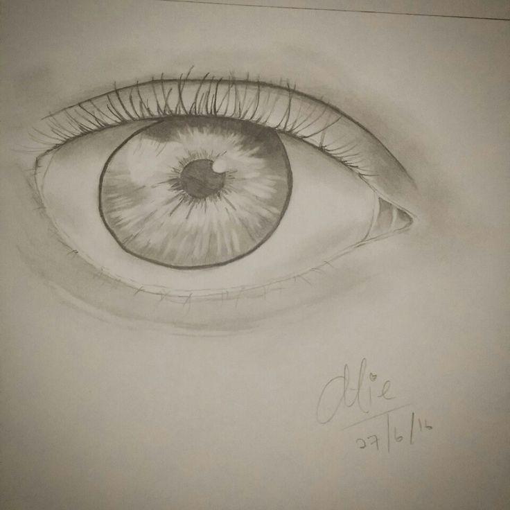 My first eye drawing