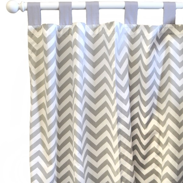 Buy Your Gray Ziggy Curtain Panels