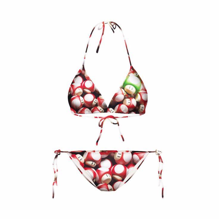 Modern Fit Triangle Strappy Bottom bandage padded Bikini Set Swimsuit String Micro Brazilian printed swimwears Free shipping Price: US $8.99 / piece