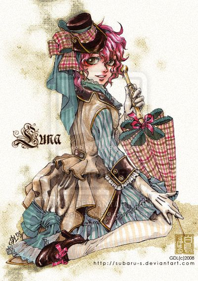 Study of Victorian Fashion by subaru-s.deviantart.com