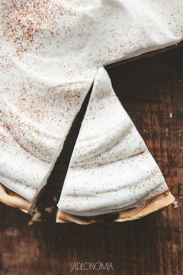 Pumpkin cream pie czyli ciasto dyniowe z bitą śmietaną kokosową