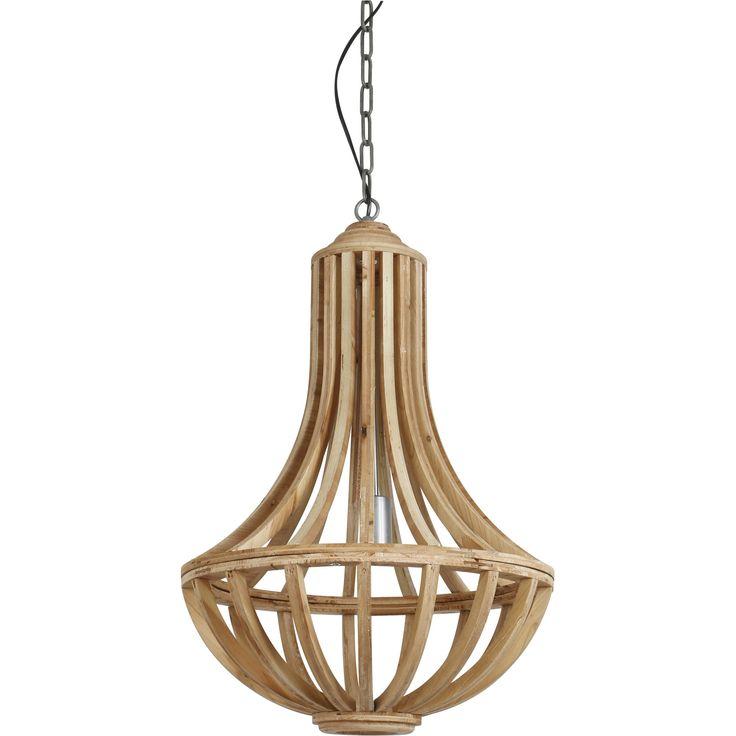 Hanglamp Lisa hout