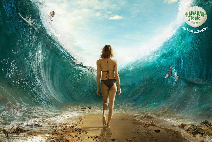 Extreme Waterproof for Hawaiian Tropic.