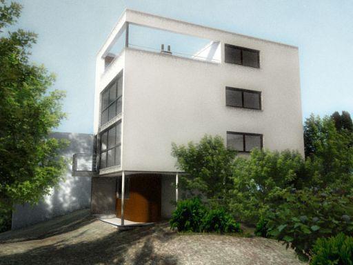 Maison Citrohan - Le Corbusier, 1922 House is a idea of living machine - modernism