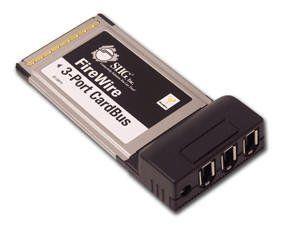 SIIG INC FIREWIRE 3-PORT CARDBUS Plug-in module - CardBus - IEEE 1394 Firewire by SIIG. $47.29. 3-port FireWire (1394a) CardBus PC card with DV editing software.