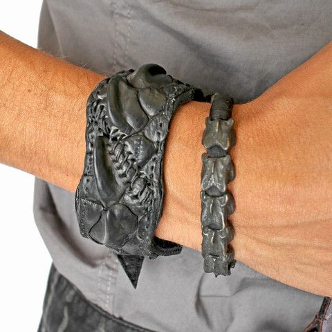Five and Diamond KMRii BC CCDL Leather Cuff