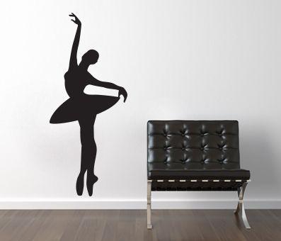 VÄGGDEKOR Ballerina