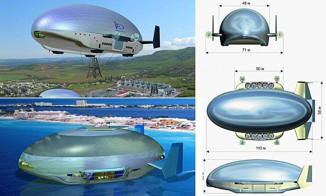 Red zeppelin: Russia set to unveil military airships