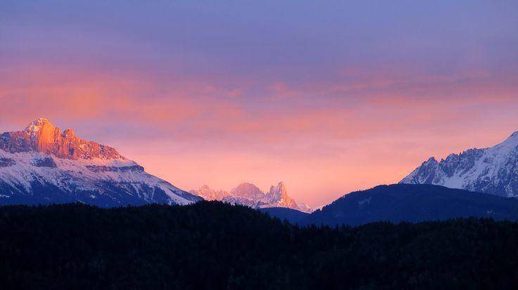Abendpink # Südtirol # Photo: Ulrike Fischer