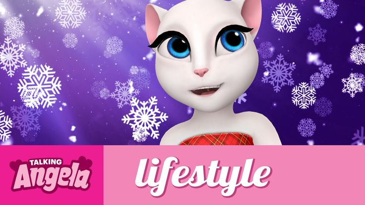 Talking Angela -  Festive Magic Moments xo, Talking Angela #video #YouTube #TalkingAngela #LittleKitties #MyTalkingAngela #festive #Xmas #Christmas #festivetime #magic