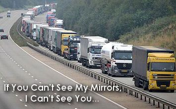 If You Can't See My Mirrors, I Can't See You… — Dot Com Women