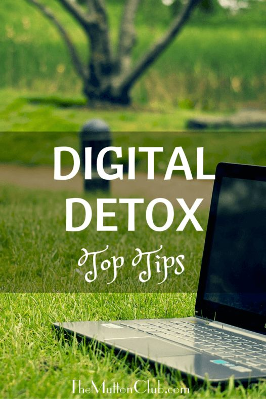 Are your eyes itchy, burning, or blurry? Shoulders ache from hunching over a computer? Are you checking your phone constantly? Time for a digital detox!