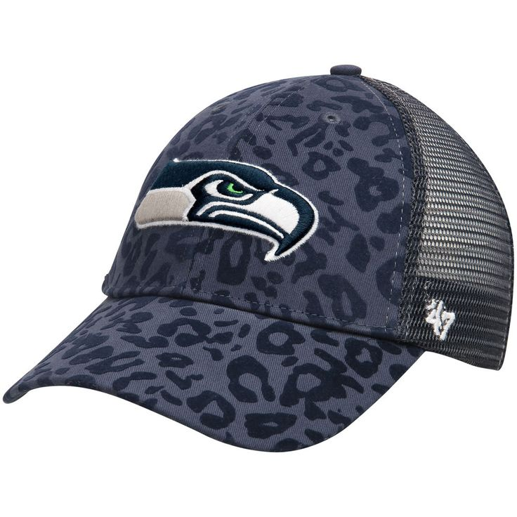 seattle seahawks 39 47 women 39 s billie adjustable hat navy. Black Bedroom Furniture Sets. Home Design Ideas