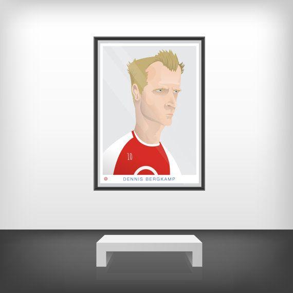 Dennis Bergkamp - SRA3 Print