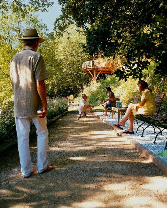 17 meilleures id es propos de terrain boule p tanque sur pinterest terrai - Terrain de petanque dans son jardin ...