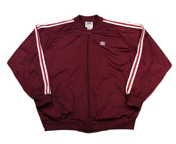 Adidas Maroon Jackets