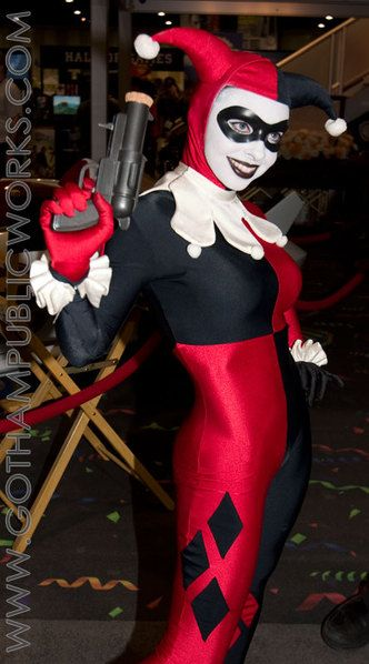 Harley Quinn from Gotham Public Works. She's one of the few people that can dress like Harley and actually ROCK IT!