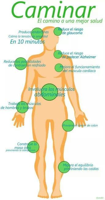 Todos los beneficios de caminar #salud #belleza