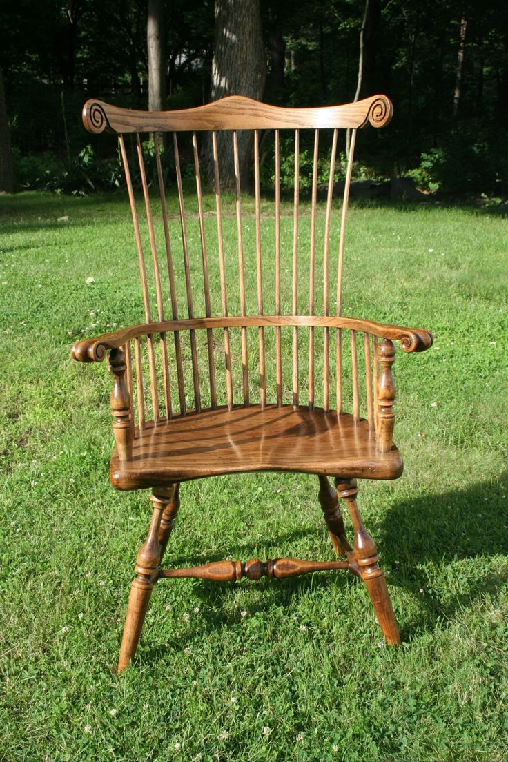 Duckloe Bros Antique Reproduction Comb Back Windsor Chair