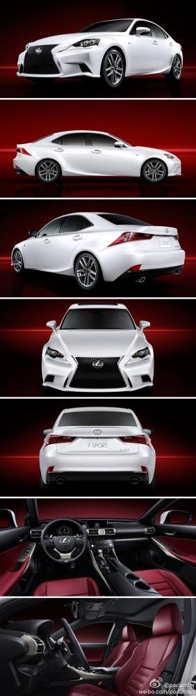 The New Lexus IS-F 350