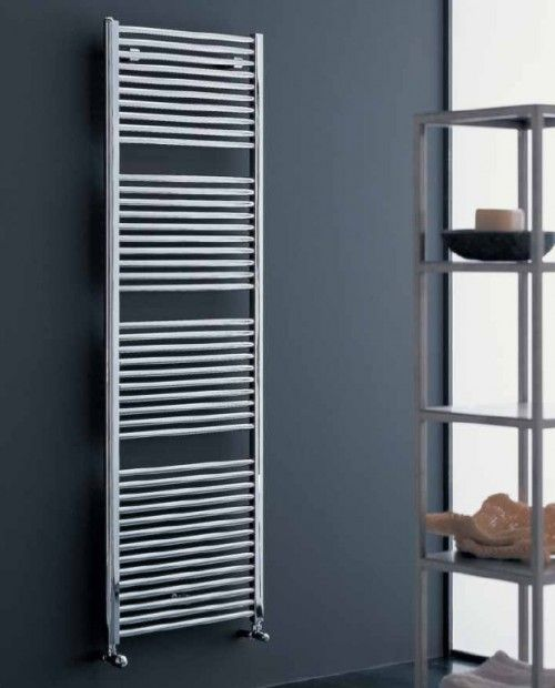 Radiador toallero modelo novo cromado de irsap for Toallero cromado para bano