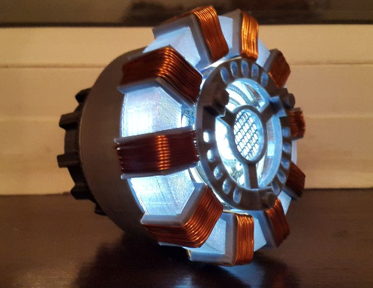 Iron Man Arc Reactor High Quality Prop Replica MKI Model by Intersectsales on Etsy https://www.etsy.com/listing/212098441/iron-man-arc-reactor-high-quality-prop