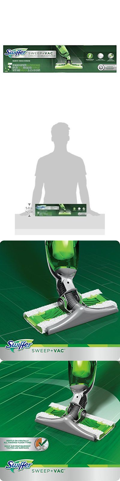 Mops and Brooms 20607: Swiffer Sweep And Vac, Vacuum Cleaner, Floor Sweeper Starter Kit -> BUY IT NOW ONLY: $56.2 on eBay!