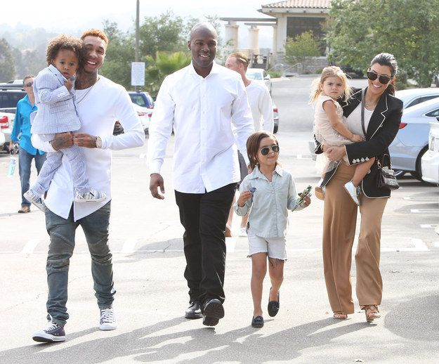 And Tyga tagged along too. | This Is How The Kardashian-Jenner Family Does Church