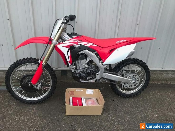 Honda CRF 450 2017 electric start immaculate UK delivery possible #honda #crf #forsale #unitedkingdom