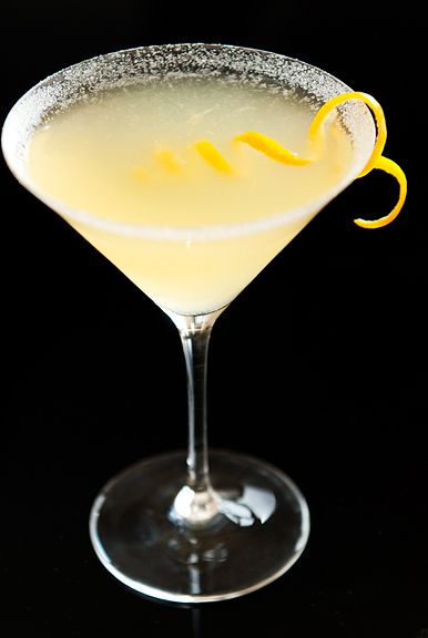 Classic Lemon Drop Martini