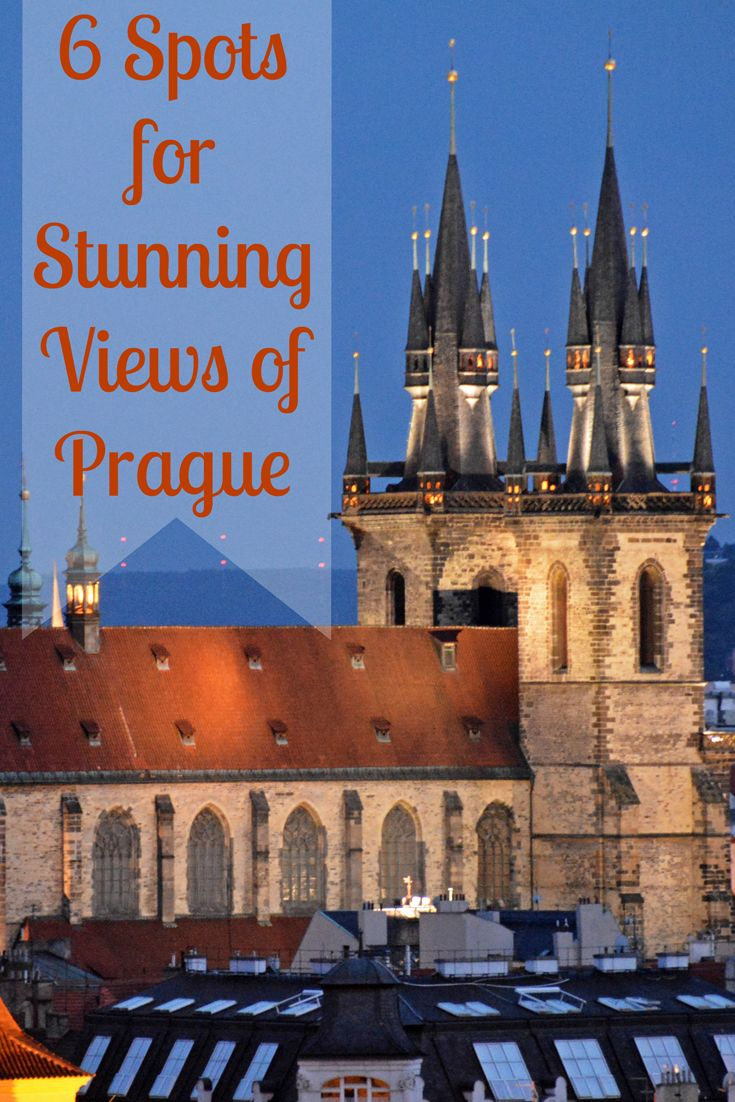 Where to go for absolutely stunning views around #Prague!