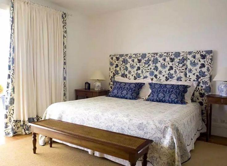 1000 imagens sobre cama saia cabeceira no pinterest - Forrar cabecero de cama ...