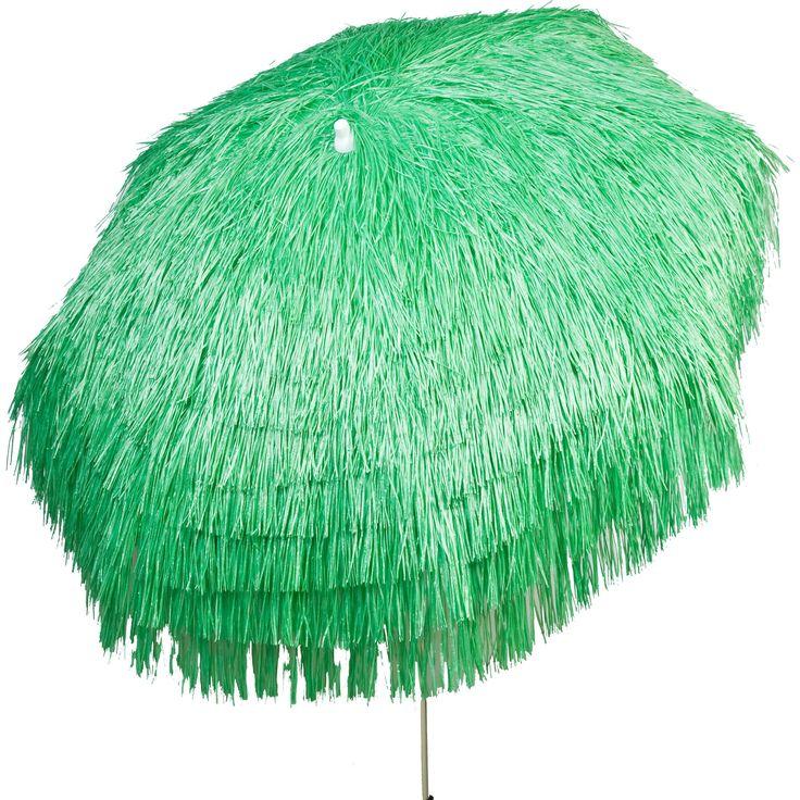 Palapa Tiki Umbrella 6-foot Patio Umbrella Pole (Palapa Tiki Umbrella 6 ft - Lime - Beach Pole), Green (Aluminum)