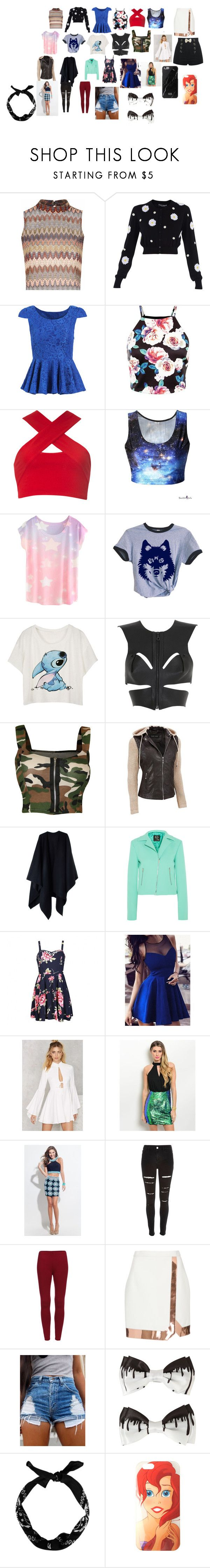 """""""Clothes"""" by blonde ❤ liked on Polyvore featuring Glamorous, Dolce&Gabbana, Motel, Fleet Ilya, WearAll, Acne Studios, McQ by Alexander McQueen, Ally Fashion, Nasty Gal and Rachel Allan"""