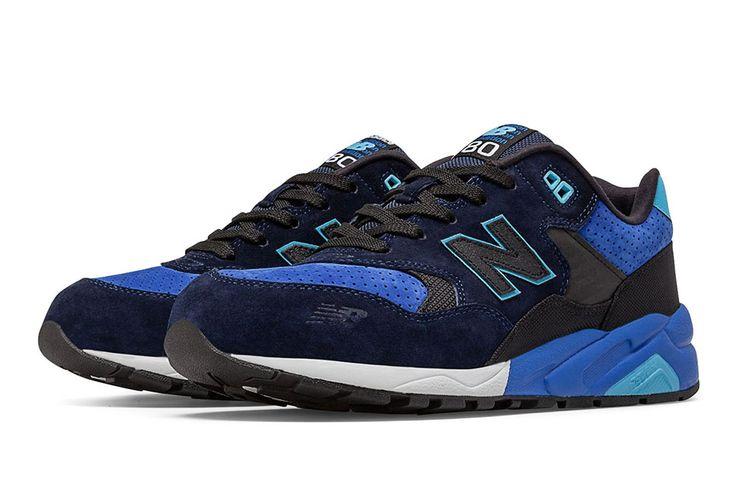 blauwe new balance sneakers m574