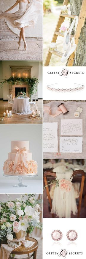 Beautifully elegant, GS Inspiration takes a look at a ballet themed wedding - Glitzy Secrets