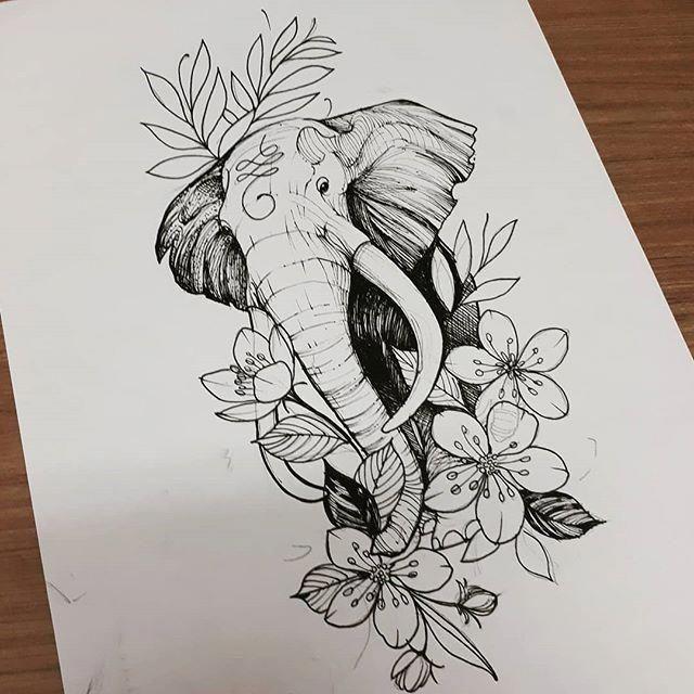 Maching Tattoos Mandalatattoo Elephant Tattoos Elephant Tattoo Design Elephant Drawing