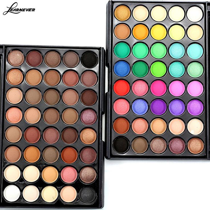 Nieuwe Make Palet 40 Kleuren Oogschaduw Met Oog Primer Lichtgevende oogschaduw Palette Band Make cosmetica M02690