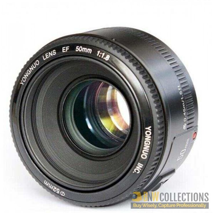 Buy Yongnuo 50mm 1.8 For Canon At Rs.6,500 Features :- Accepts 52mm Filters, Vertical 27 Degree Cash on Delivery Hassle FREE To Returns Contact # (+92) 03-111-111-269 (BnW) #BnWCollections #Yongnuo #50mm #Canon #Camera #Lense