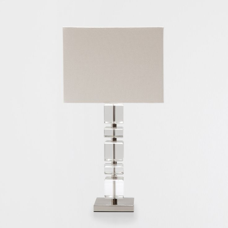 Image 1 of the product Glass cubes lamp