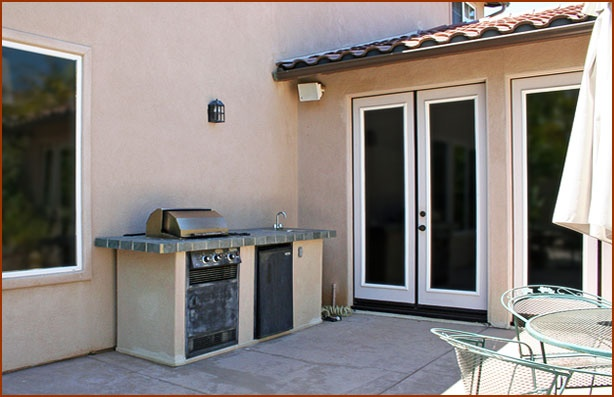 Outdoor Fireplace 6 Before Eldorado Stone And Brick