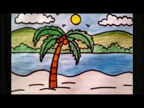 Easy Natural Drawing For Children Dunia Belajar