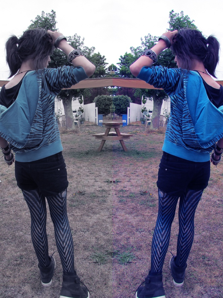 Mirror Image, Inspired by Fernanda Brussi. The Fernanda Brussi Image that was used on the cover of Rapture By Lauren Kate
