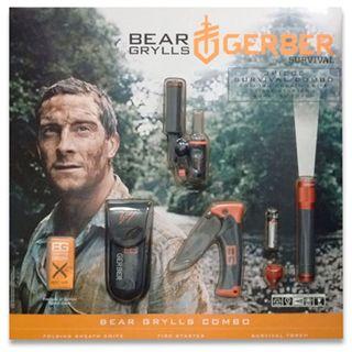 Gerber Bear Grylls 3 Piece Survival Combo