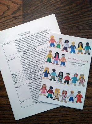 LDS Primary Program. Examples of past Primary Programs. Tips to make it easy to write your own.